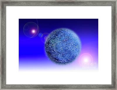 Planet Framed Print by Tatsuya Atarashi