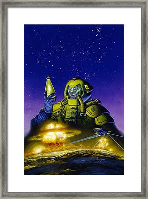 Planet Wars Framed Print
