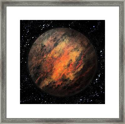 Planet X Framed Print