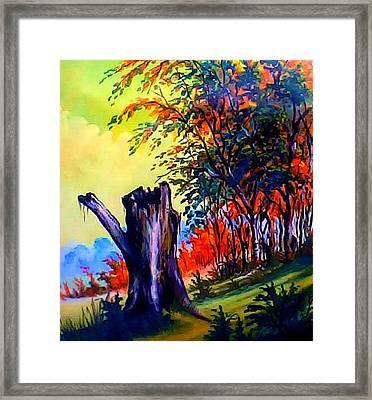 Planeta Verde Framed Print by Leomariano artist BRASIL