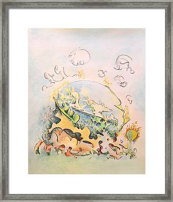 Planetary Chariot Framed Print by Dave Martsolf