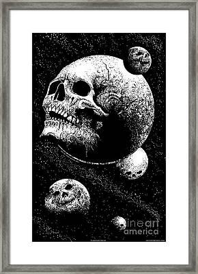 Planetary Decay Framed Print