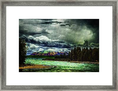 Planetary Infection Framed Print