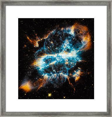 Planetary Nebula Ngc 5189 Framed Print by Marco Oliveira