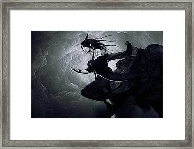 Planewalker Framed Print by Cambion Art