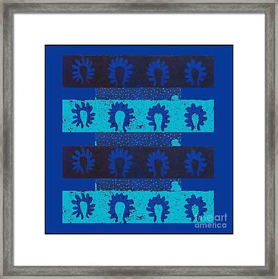 Plankton Framed Print