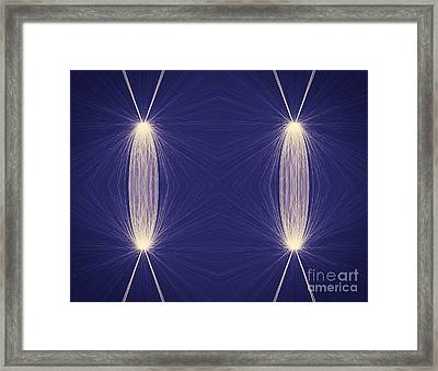 Plankton And Crankton Dance To The Blues Framed Print