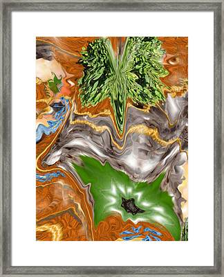 Plankton Soup Framed Print