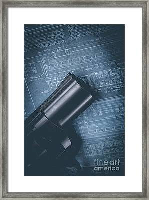 Framed Print featuring the photograph Planning The Heist by Edward Fielding