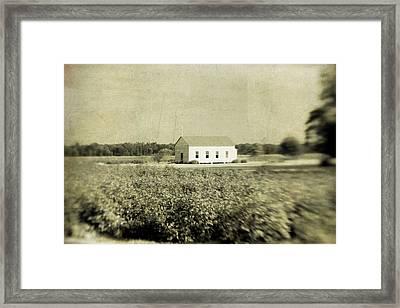 Plantation Church Framed Print by Scott Pellegrin