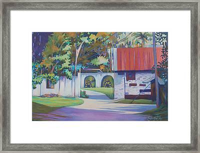 Plantation Dream Framed Print