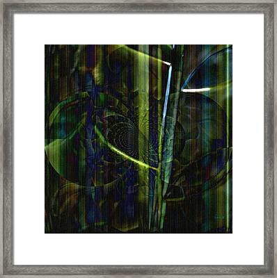 Planted Framed Print by Fania Simon