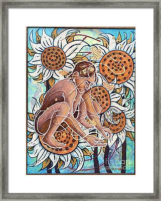 Planting The Seeds Framed Print