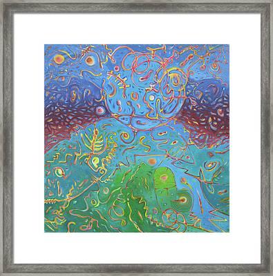 Plasma Framed Print
