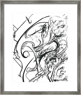 Plasmogamy015 Framed Print by TripsInInk