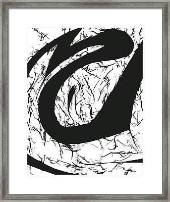 Plasmogamy032 Framed Print by TripsInInk