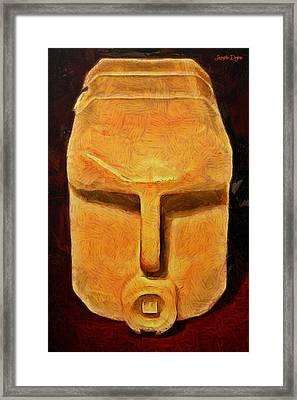 Plastic Bottle - Da Framed Print by Leonardo Digenio