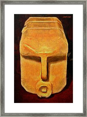 Plastic Bottle - Pa Framed Print by Leonardo Digenio