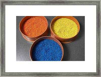 Plastic Materials Used For Industrial Framed Print by Panoramic Images