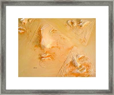 Plastic Wraps Framed Print by Kime Einhorn