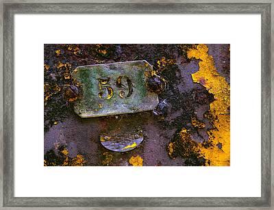 Plate 59 Framed Print