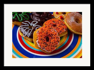 Fun Food Photographs Framed Prints