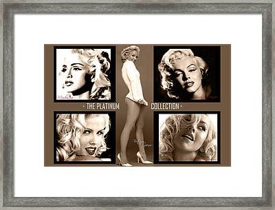 Platinum Collection Framed Print by Anibal Diaz