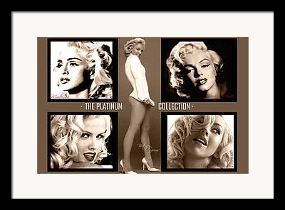 Anna Nicole Smith Framed Prints