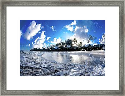 Platinum Dawn Framed Print by Sean Davey