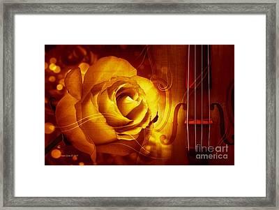 Play A Love Song Framed Print