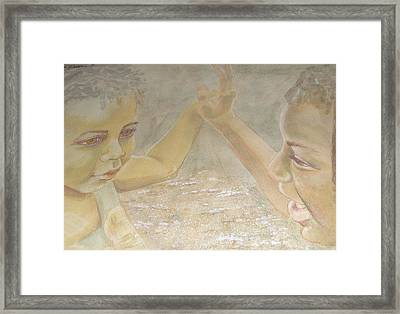 Play In The Day Framed Print by Donna Perryman