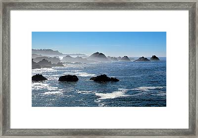 Framed Print featuring the photograph Play Misty For Me by Susan Rissi Tregoning