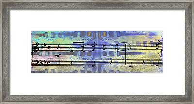 Play That Rock And Roll Framed Print by Bill Cannon