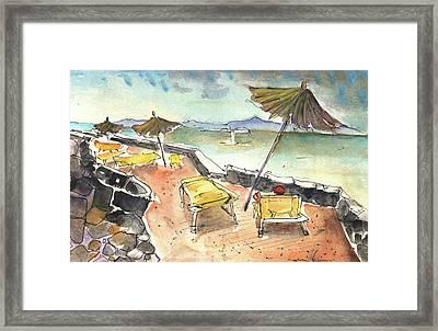 Playa Blanca In Lanzarote 03 Framed Print