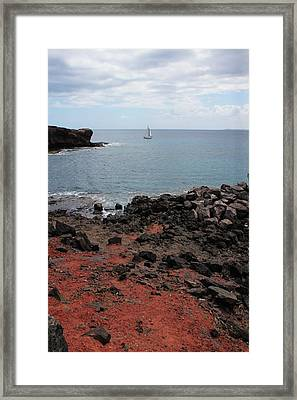 Playa Blanca - Lanzarote Framed Print by Cambion Art