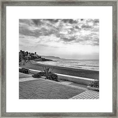 Playa Burriana, Nerja Framed Print