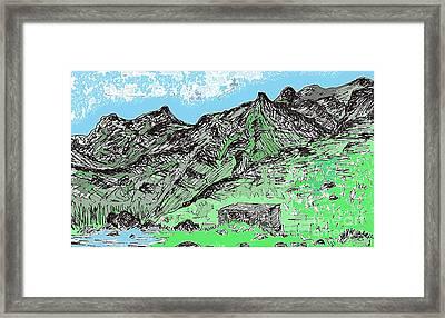 Playa De Tamadiste Tenerife Framed Print