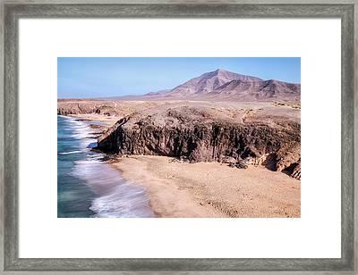 Playa Del Pozo - Lanzarote Framed Print