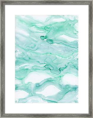 Playa Eight Framed Print by Emily Magone