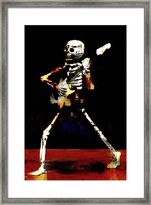 Framed Print featuring the photograph Player by Jeff Gettis