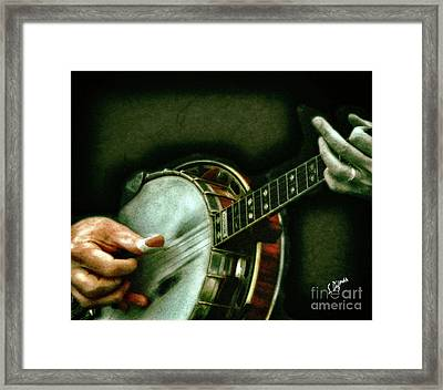 Player Of Dreams Framed Print by Steven Digman