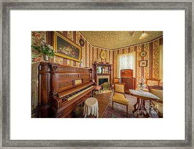 Player Piano Framed Print by Inge Johnsson