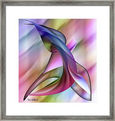 Playful Abstract  Framed Print