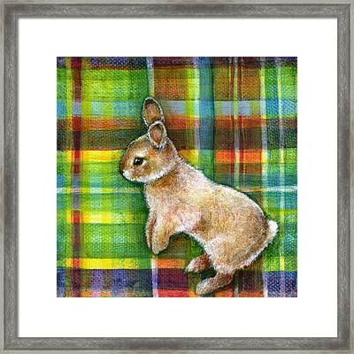 Framed Print featuring the painting Playful by Retta Stephenson