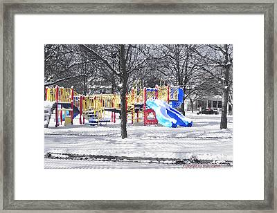 Playground 16d Framed Print
