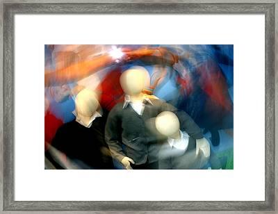 Playground 3 Framed Print by Jez C Self