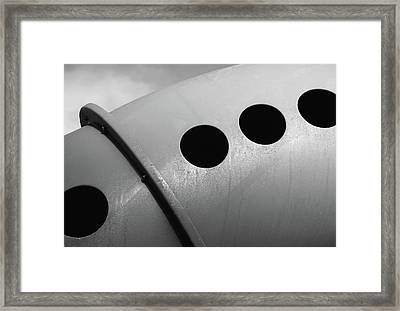 Framed Print featuring the photograph Playground Bridge by Richard Rizzo