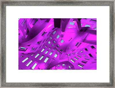 Playground For The Mind Framed Print by Alex Lapidus