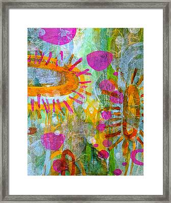 Playground In The Sea Framed Print