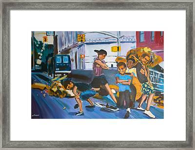 Playground Framed Print by Wayne Pearce